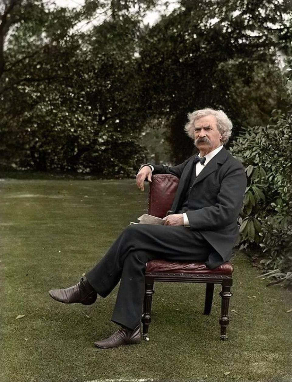Ο συγγραφέας του διάσημου μυθιστορήματος «Οι περιπέτειες του Τομ Σόγιερ» Μαρκ Τουέιν