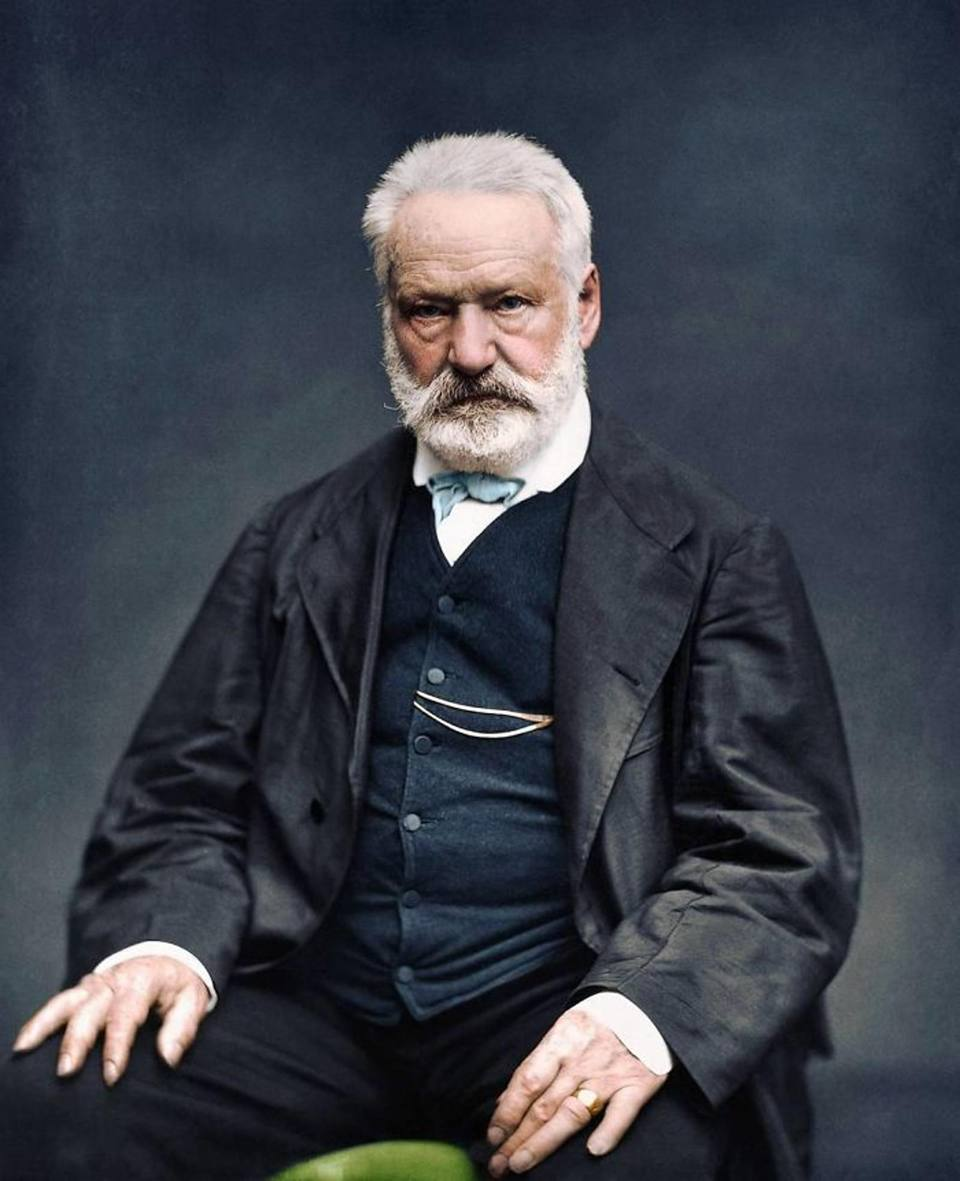 O σπουδαίος γάλλος συγγραφέας Βίκτορ Ουγκό, το 1876