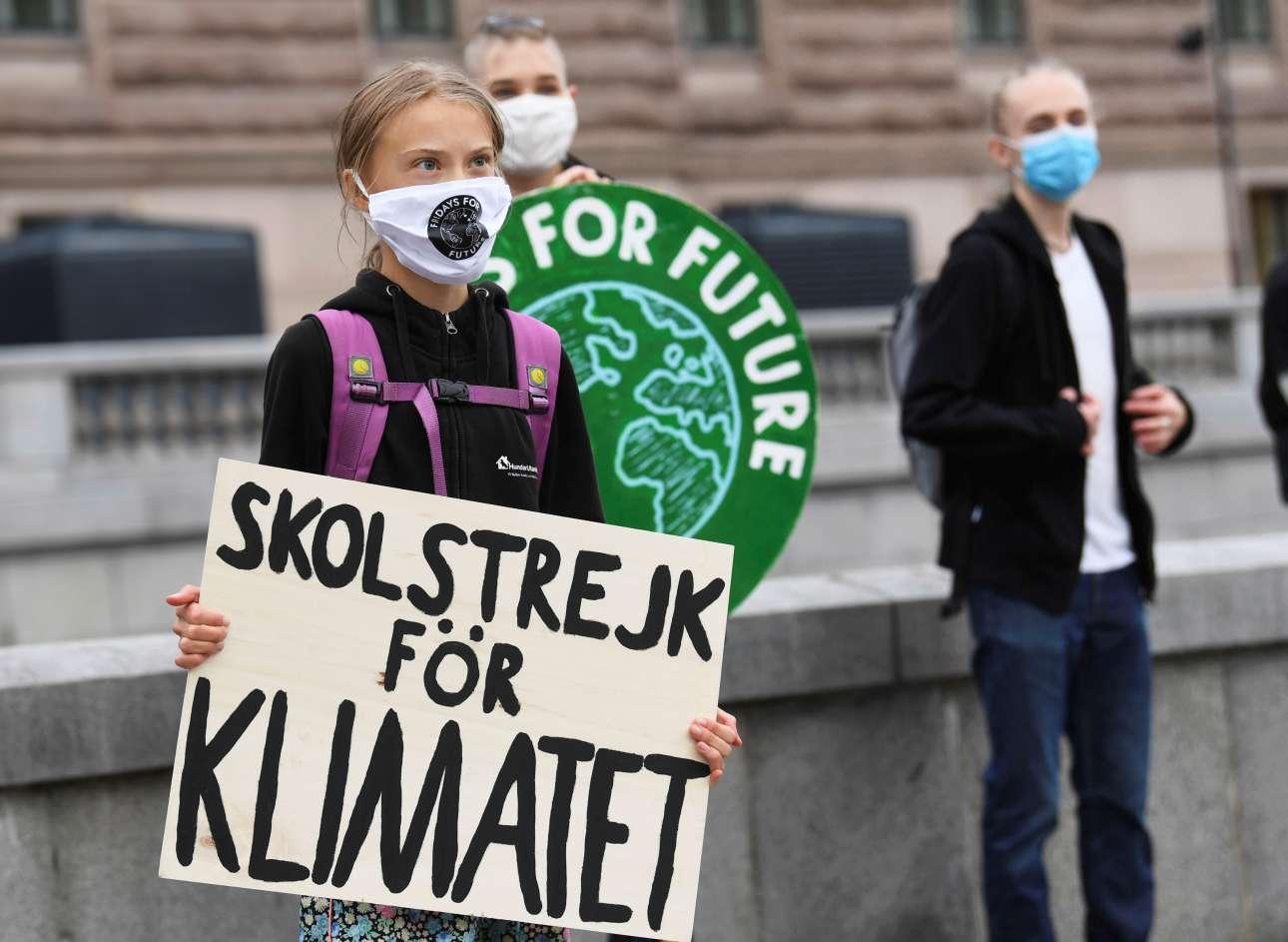 Σουηδία: Η Γκρέτα στον αγώνα, αλλά οι Πράσινοι στον… πάτο
