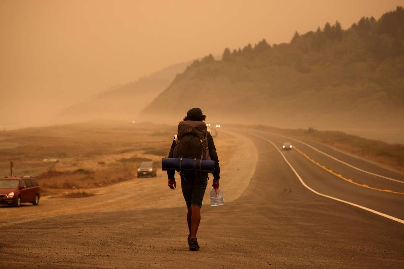 Οσο μεγάλες και αν είναι οι ΗΠΑ, δεν αντέχουν να έχει γίνει στάχτη στην Καλιφόρνια μία έκταση μεγάλη σαν την Κρήτη. Είναι μέγεθος καταστροφής ασύλληπτο. Το ξέρει και ο περιπατητής που βαδίζει κατά μήκος της εθνικής οδού Redwood, πλάι στα κύματα του Ειρηνικού, που τα έχει σκεπάσει η κάπνα