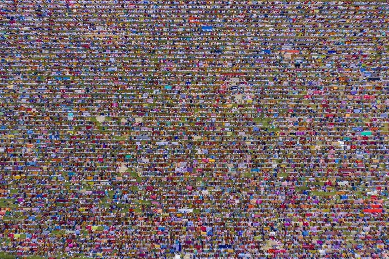 «Το μεγαλύτερο εκκλησίασμα»: Περισσότεροι από 600.000 πιστοί συμμετέχουν στο μεγαλύτερο Eid-ul-Fitr της Νότιας Ασίας, στο Μπανγκλαντές