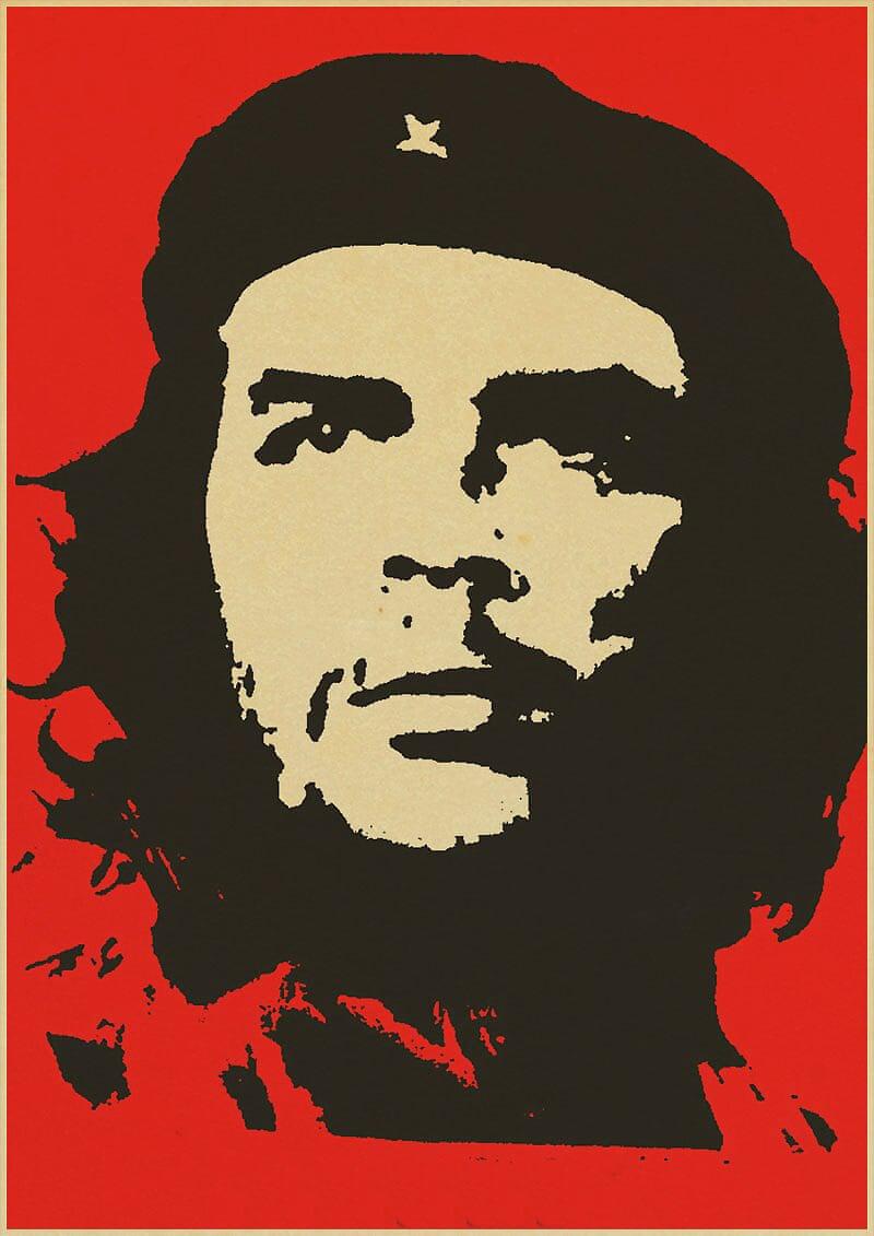 Με επίσημο τίτλο «The Heroic Guerrilla Fighter» («Ο ηρωικός αντάρτης πολεμιστής»), η αφίσα του Τσε Γκεβάρα του 1967 εμφανίστηκε παντού παγκοσμίως, από τοίχους σε εφηβικές κρεβατοκάμαρες, μέχρι διαδηλώσεις και καταστήματα με σουβενίρ