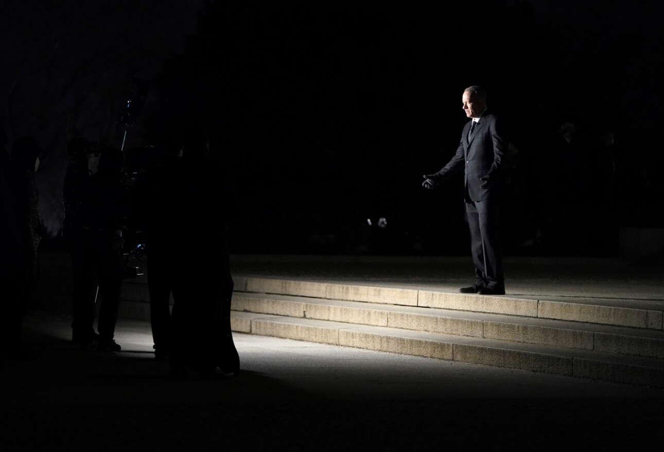 Από το Μνημείο Λίνκολν, ο Τομ Χανκς παρουσιάζει το σόου που ακολούθησε την τελετή ορκωμοσίας