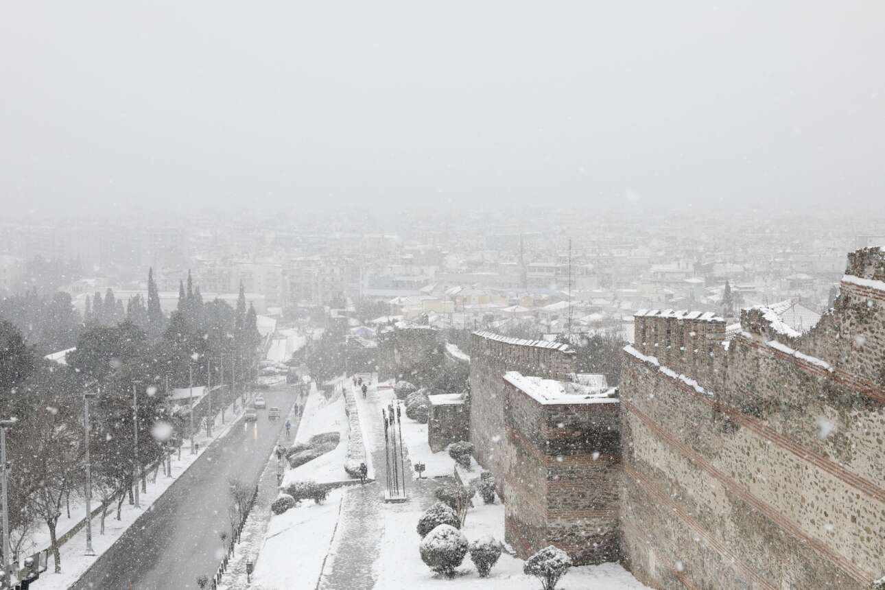 H Θεσσαλονίκη από την Ανω Πόλη