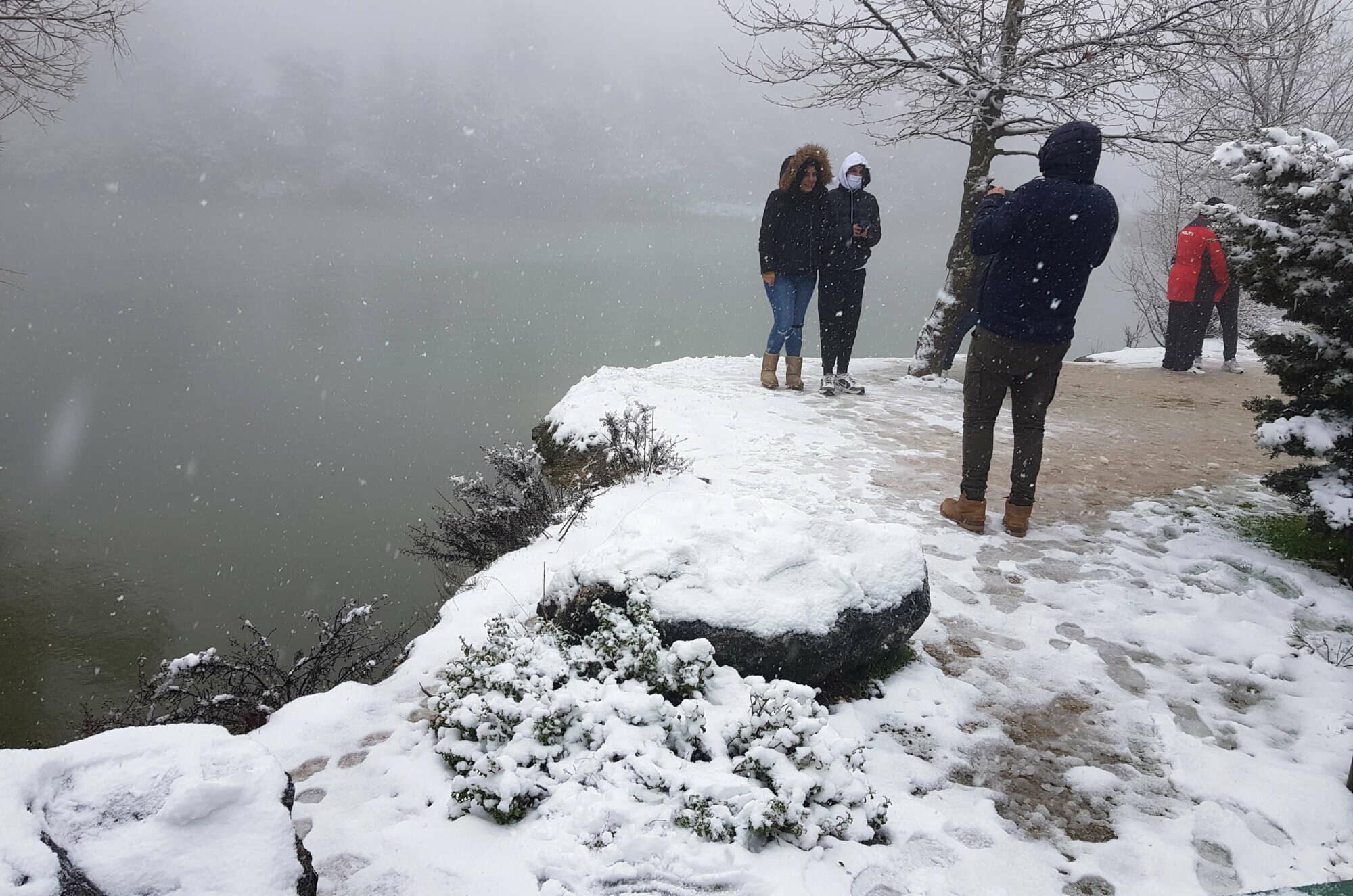 Μια φωτογραφία για τα social media επιβάλλεται. Λίμνη Μπελέτσι, Ιπποκράτειος Πολιτεία