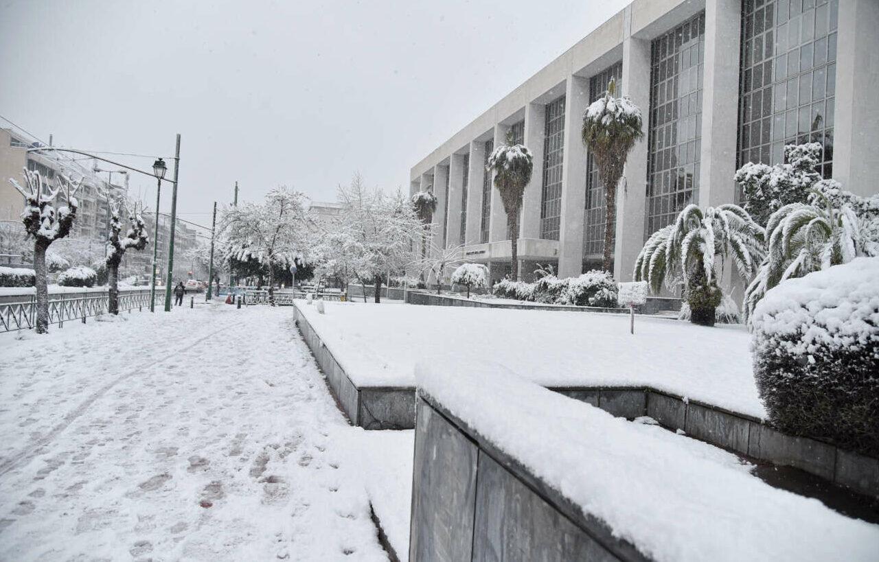 To κτίριο του Αρείου Πάγου στη Λεωφόρο Αλεξάνδρας