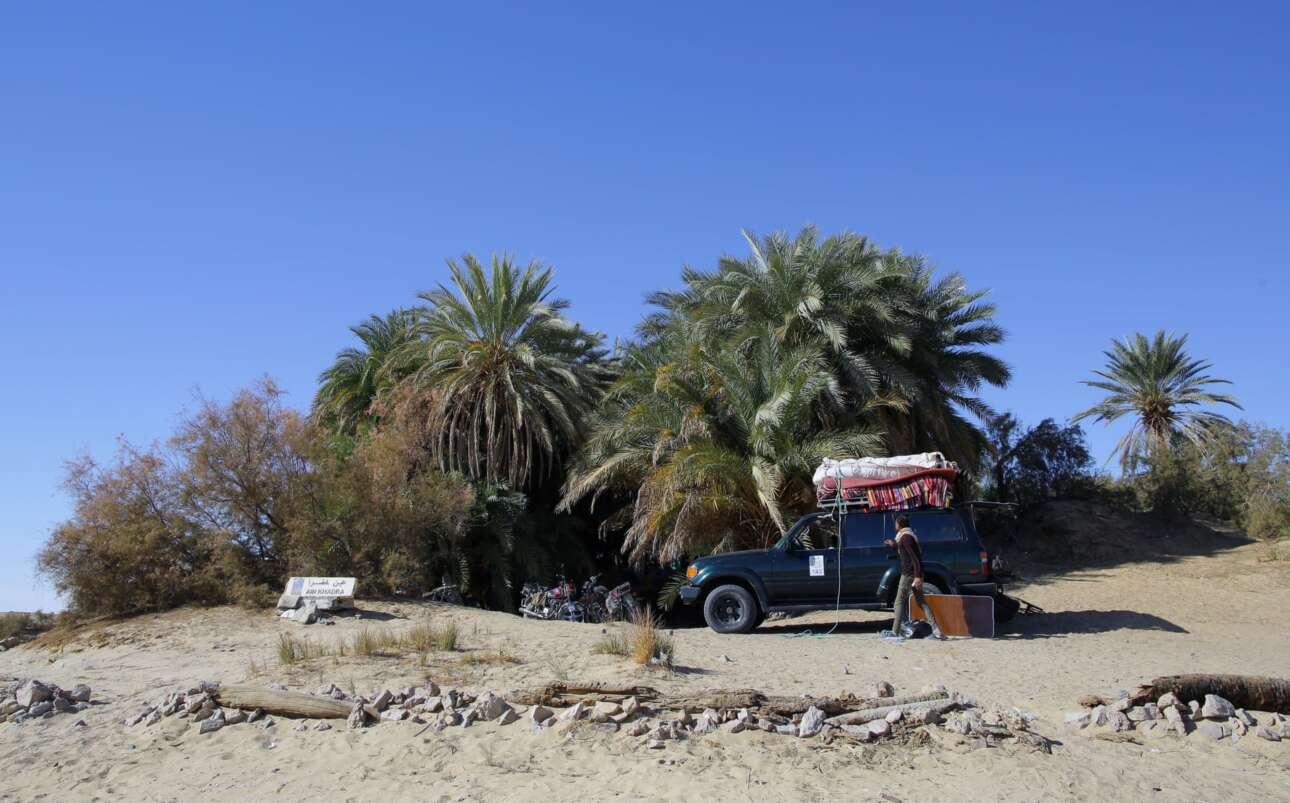 Στάση στη όαση Ain Khadra
