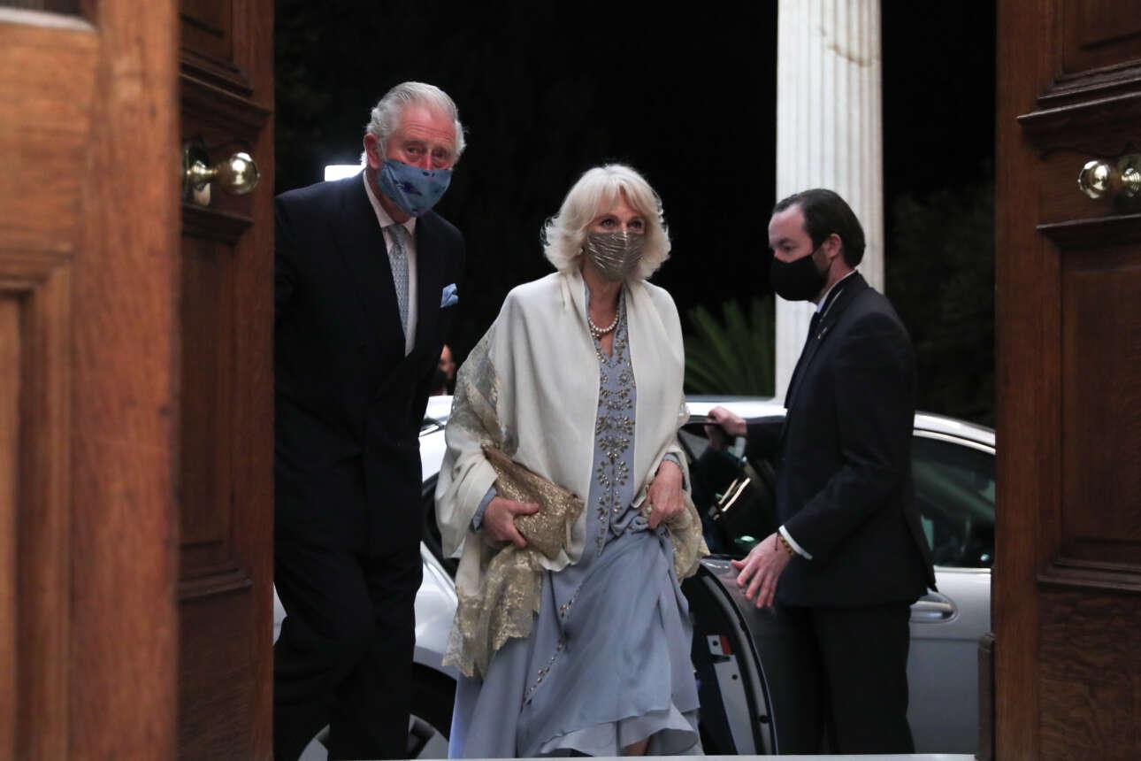 Η άφιξη του Καρόλου και της Καμίλα στο Προεδρικό