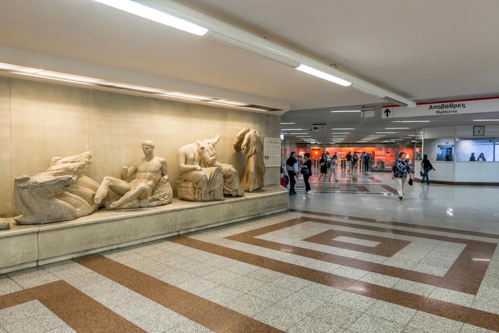 Χωρίς την ευρωπαϊκή συμβολή το μετρό της Αθήνας δεν θα είχε ολοκληρωθεί. Ενδεχομένως να μην ξεκινούσε ποτέ.