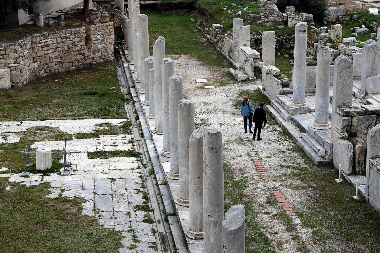 Ελλάς. Περίπατος στη Ρωμαϊκή Αγορά των Αθηνών. Πλέον μπορούν να την επισκέπτονται και οι Αθηναίοι των προαστίων - τα Σαββατοκύριακα