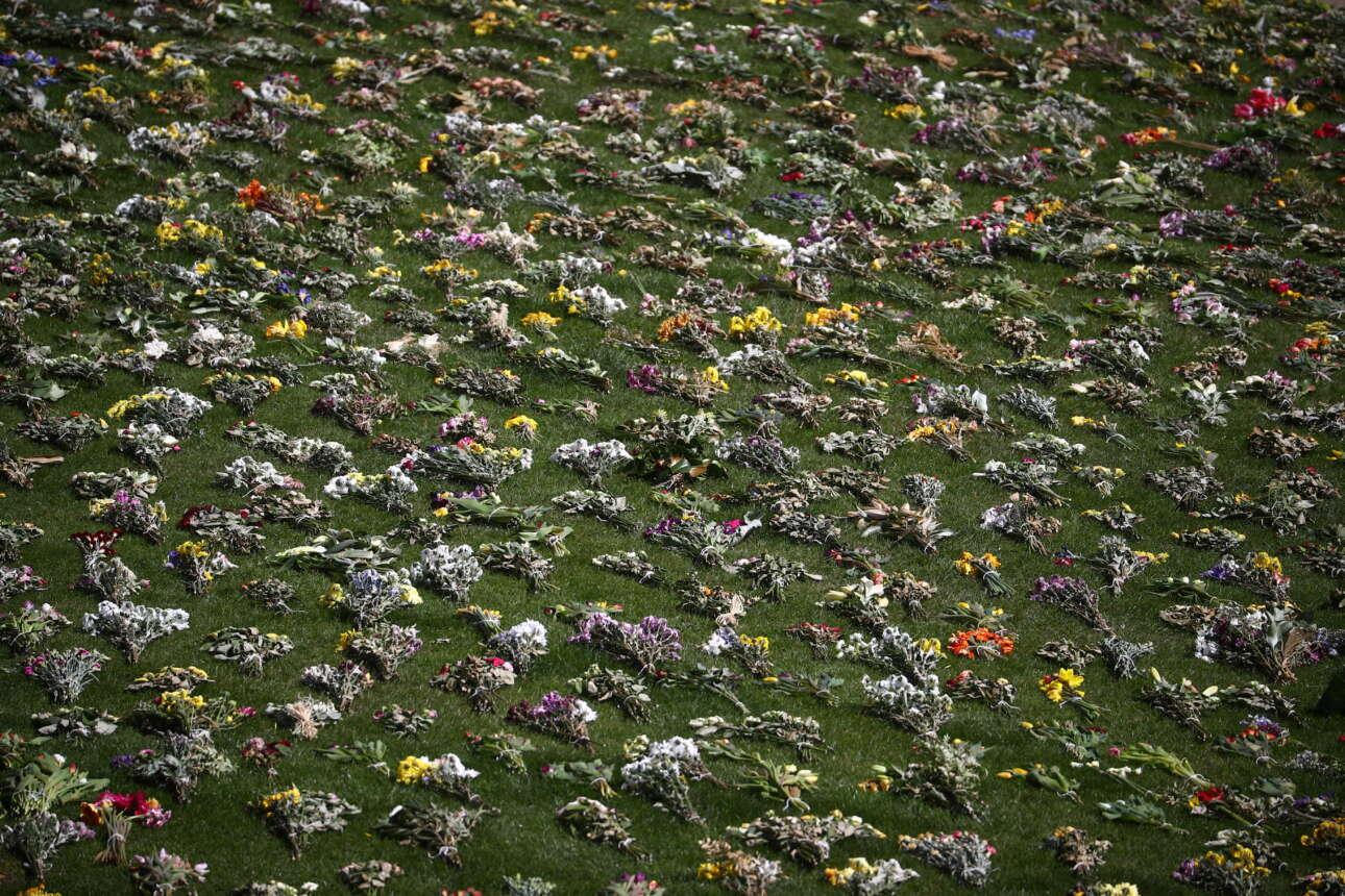 Αμέτρητα λουλούδια προς τιμήν του δούκα του Εδιμβούργου
