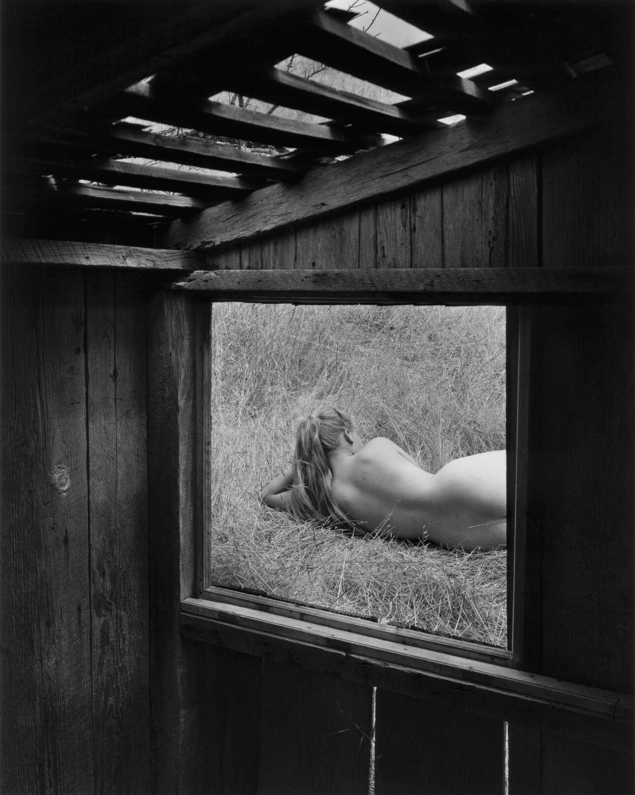 «Η Μπάρμπαρα μέσα από το παράθυρο», 1956. Οι φωτογραφίες του Μπούλοκ «υποδηλώνουν ότι η κατανόηση της φύσης είναι η κατανόηση του εαυτού μας και πως η αρμονία έγκειται στο να αγκαλιάσουμε την αλήθεια ότι είμαστε το ίδιο πράγμα»