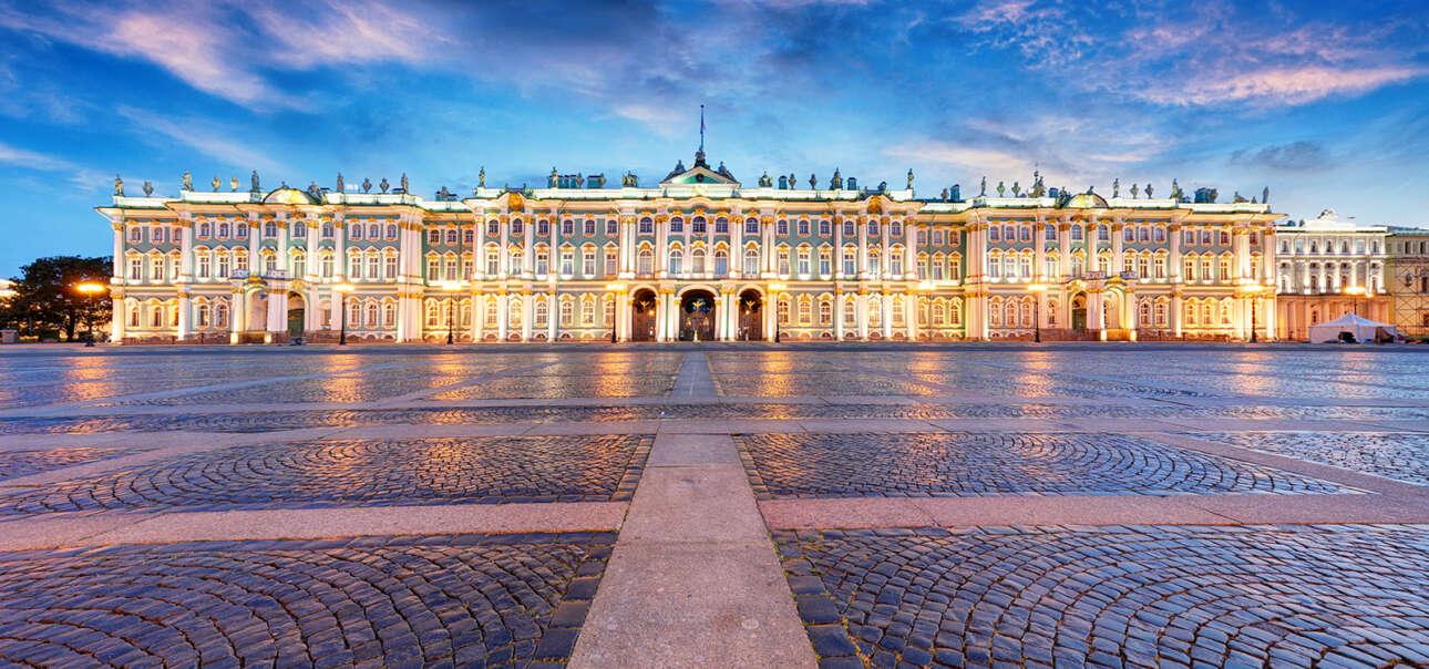 Το Κρατικό Μουσείο Ερμιτάζ στην Αγία Πετρούπολη της Ρωσίας