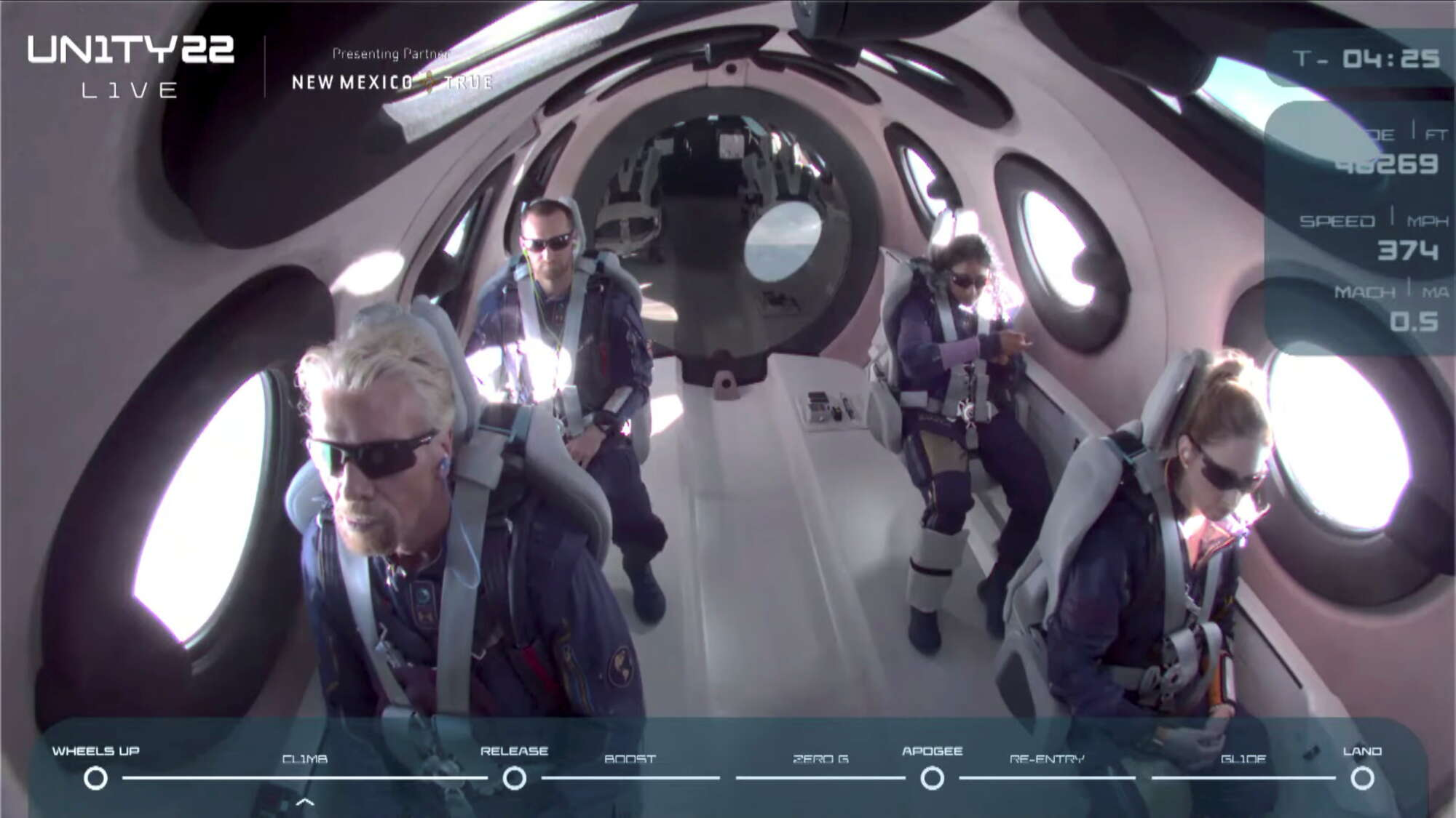 Οι πρώτοι διαστημικοί τουρίστες δεν μπορούν να κρύψουν μια μικρή νευρικότητα