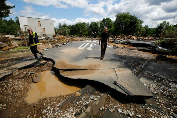 Γερμανία και Μπενελούξ στο έλεος των πλημμύρων | Protagon.gr