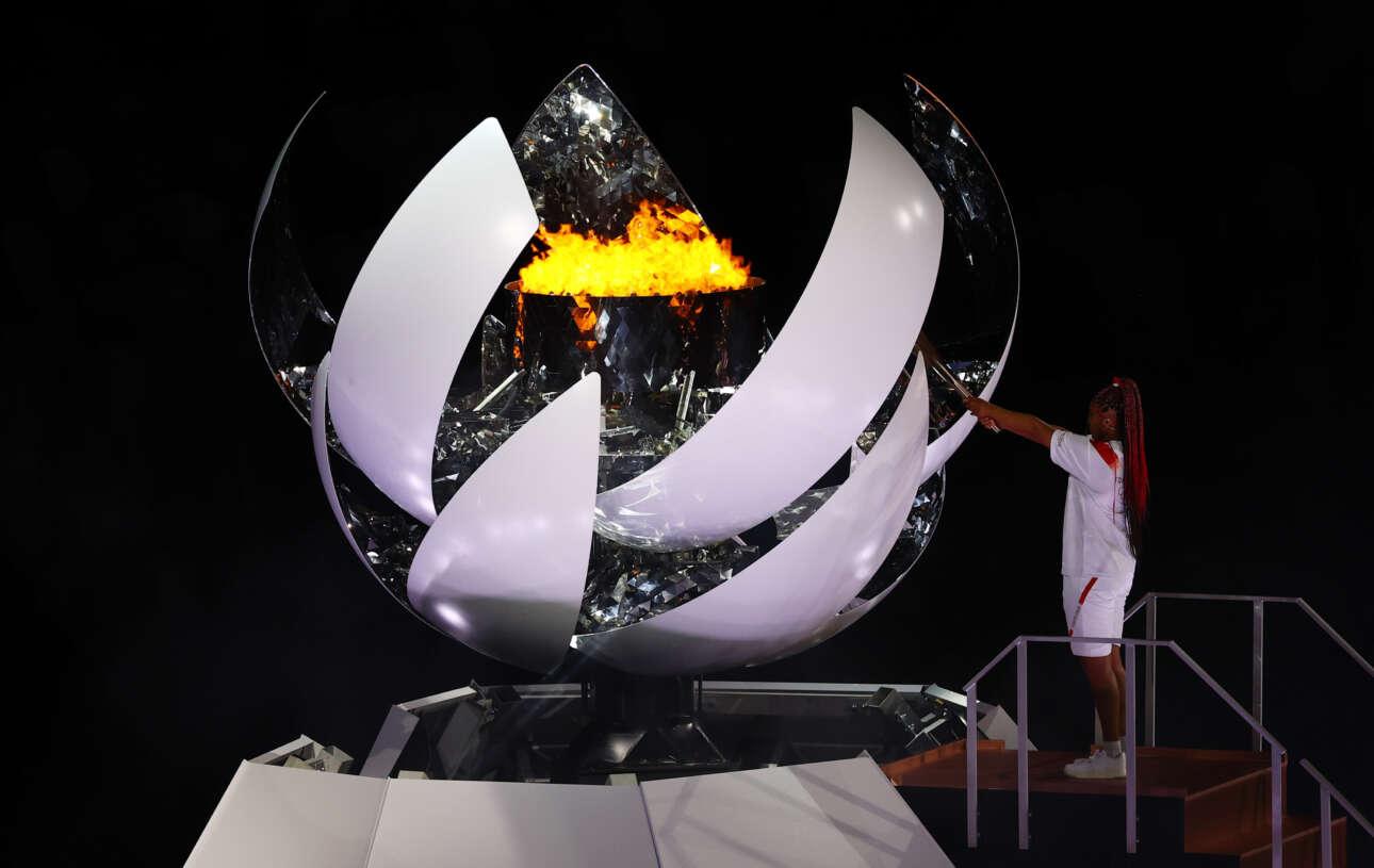 Ο ολυμπιακός βωμός ανάβει - θα έχει για καύσιμο το υδρογόνο