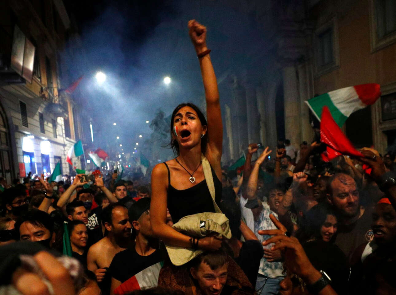 Eκσταση για την Ιταλία Πρωταθλήτρια Ευρώπης