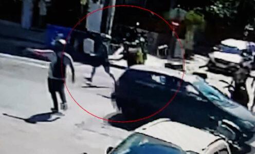 Νέο βίντεο από τη σύλληψη του ληστή της τράπεζας στη Μητροπόλεως